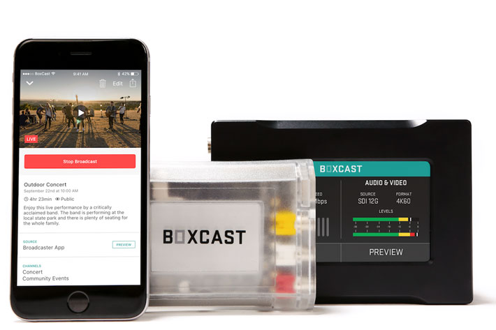 BoxCast teams up with Telestream for simple, high quality