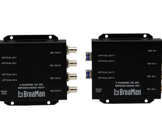 Broaman entry-level Repeat8-NANO at NAB NY