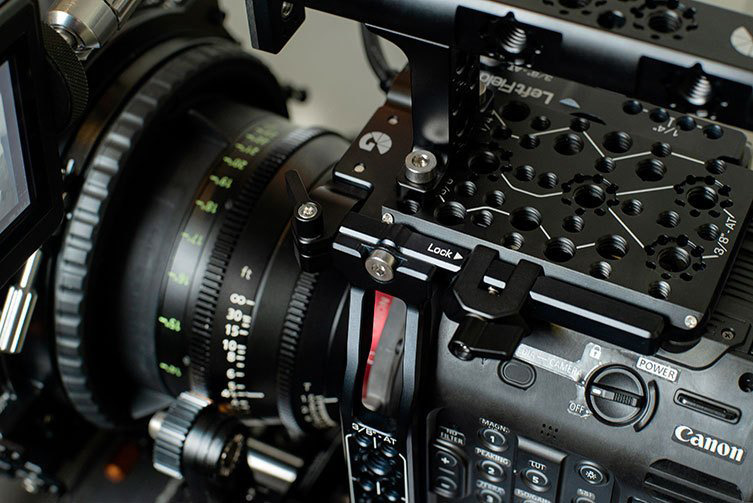 Bright Tangerine Left Field Cage for the C500mkII // Tool Talk 9