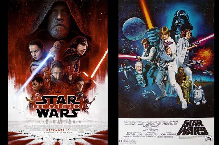 Behind the Scenes: 40 years of Star Wars