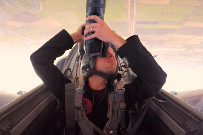 "Behind the Scenes of a ""Top Gun"" shoot"