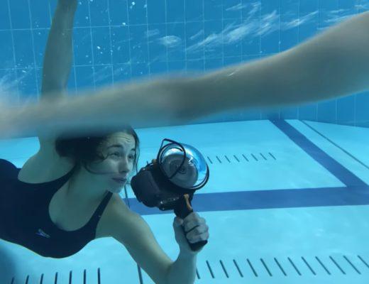 Caroline Scott underwater