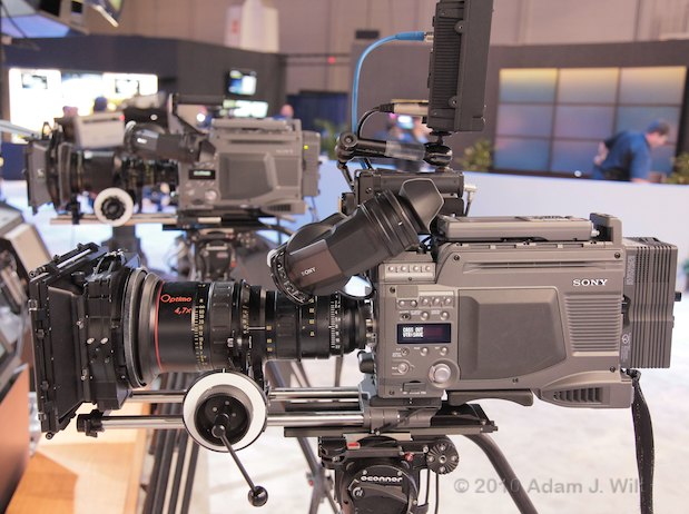 NAB 2010: Sony, Sunday Night 19