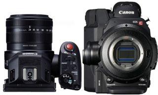 EOS C300 Mark II and XC10 Capture Short Films