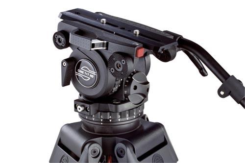 Sachtler introduces Versatile Cine 7+7 HD Fluid Head System 1