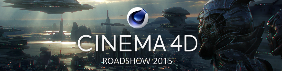 MAXON and Cinema 4D are coming to a town near you by Jeremiah