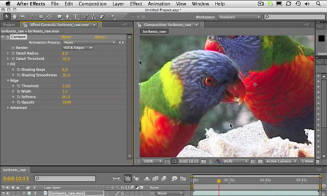 New Features in After Effects CS4: Part 4 1