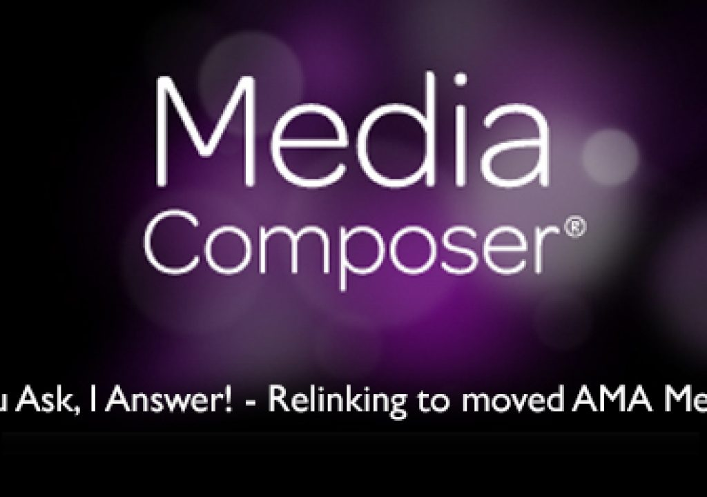Media Composer - You Ask, I Answer! - Lesson 1 1