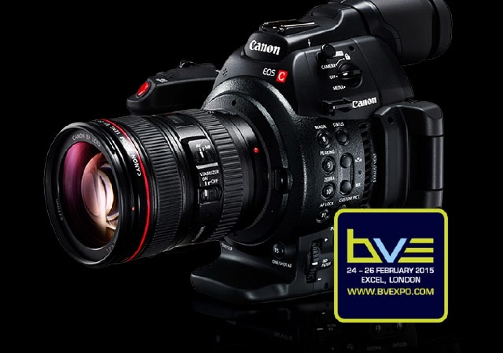 BVE 2015: Canon's 4K Future Starts in London 5