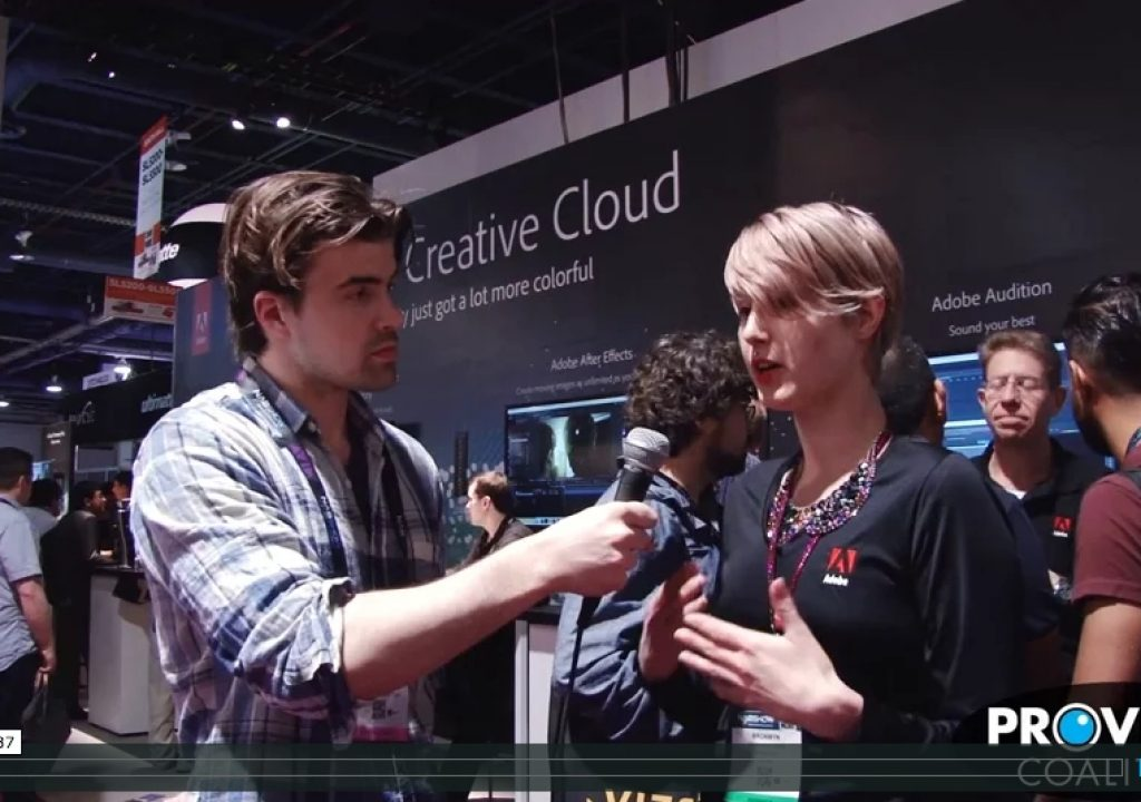 PVC at NAB 2015 - Talking Mobile Video Production with Adobe 1