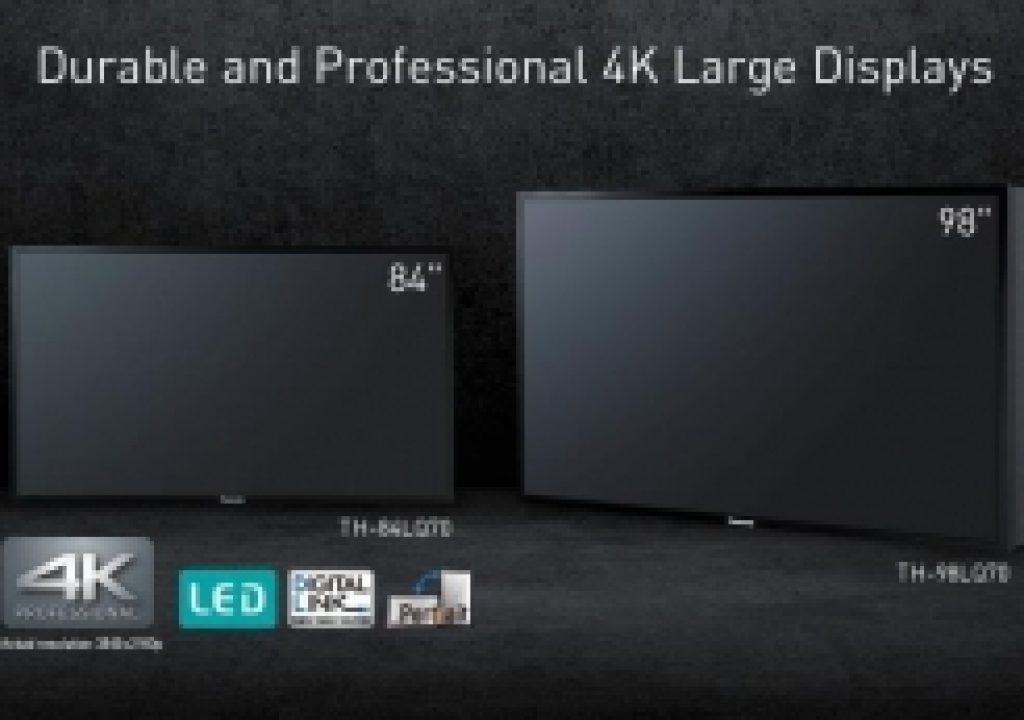 "Panasonic Debuts 98"" and 84"" Professional 4K LED Displays at NAB SHOW 3"