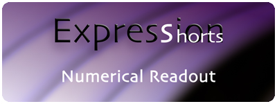 Expression Shorts - Numerical Readout 1