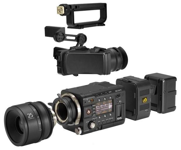 Breaking news: Sony PMW-F5 & PMW-F55 4K Cine Cameras 3