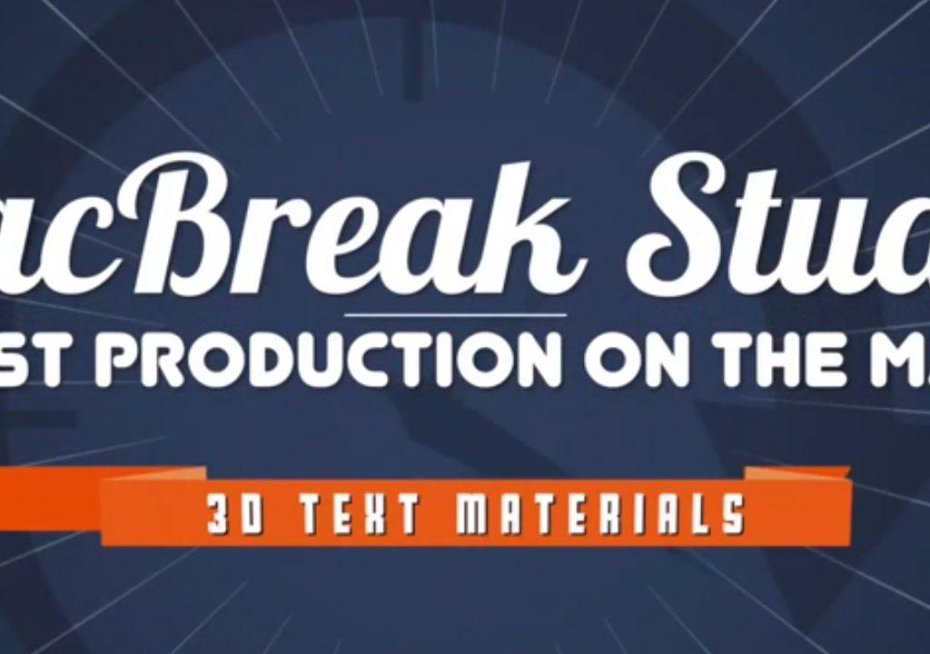 Understand 3D Materials in Final Cut Pro X 1