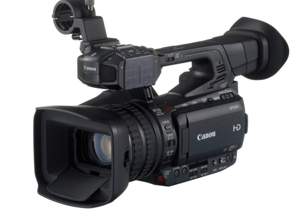 Free firmware upgrades for Canon XF205 and XF200 camcorders 1