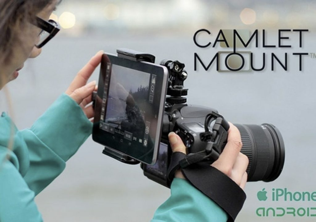 Camlet Mount: Attach a Bigger Monitor to Your Camera 1