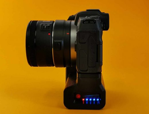 Canon EOS RP battery grip solution for over 6x duration 8