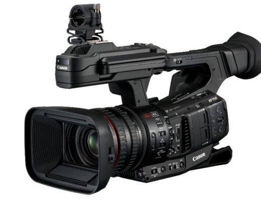 Canon's new broadcast camera: the XF-HEVC capable XF705