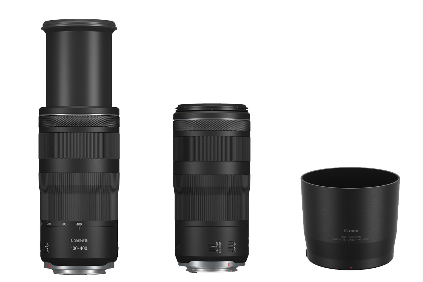 Canon's new RF lenses: a 16mm F2.8 and 100-400mm F5.6-8