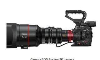 Canon: new 120MP DSLR and a Cinema 8K camera