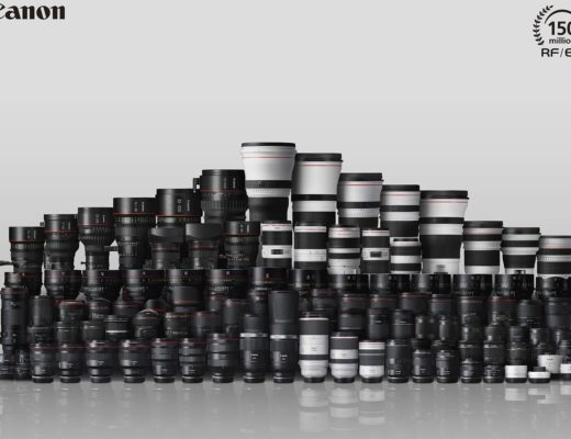 Canon's milestone: 150 million RF and EF lenses produced