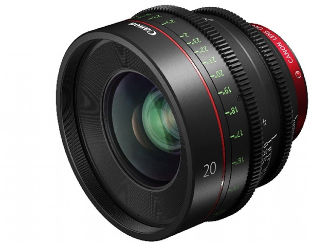 Canon expands cinema prime range with CN-E20mm T1.5 L F