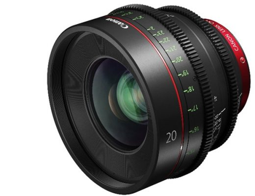 Canon expands cinema prime range with CN-E20mm T1.5 L F