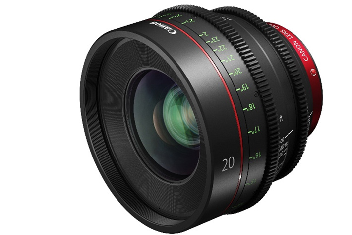 Canon's new CN-E20mm T1.5 L F for Cinema EOS