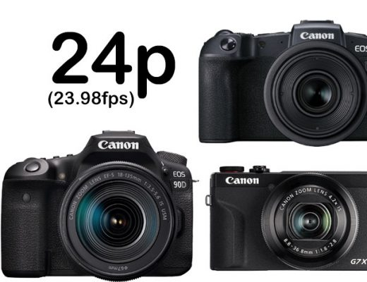 Canon adds 24p video capture to cameras, now consumers want more