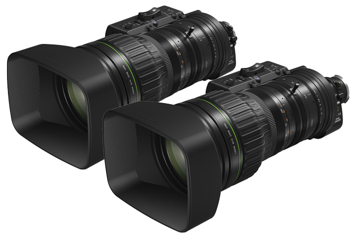 Canon's new 4K UHD portable zooms for broadcast