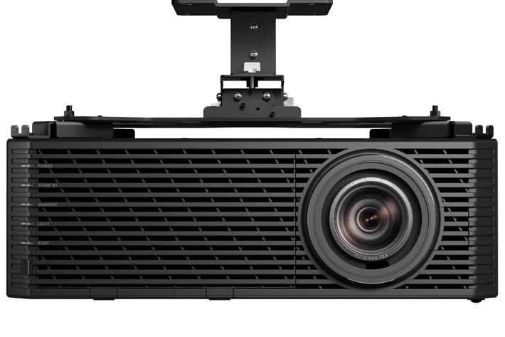 A small and light 4K laser projector