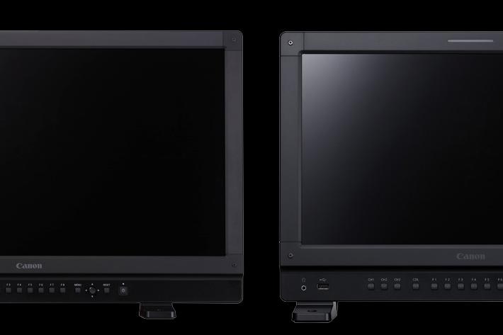 New Canon 4K HDR monitors debut at NAB 2018