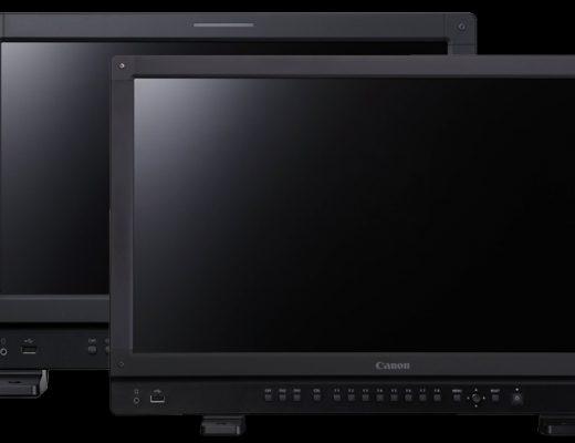 DP-V2421 and DP-V1711: new Canon 4K HDR monitors