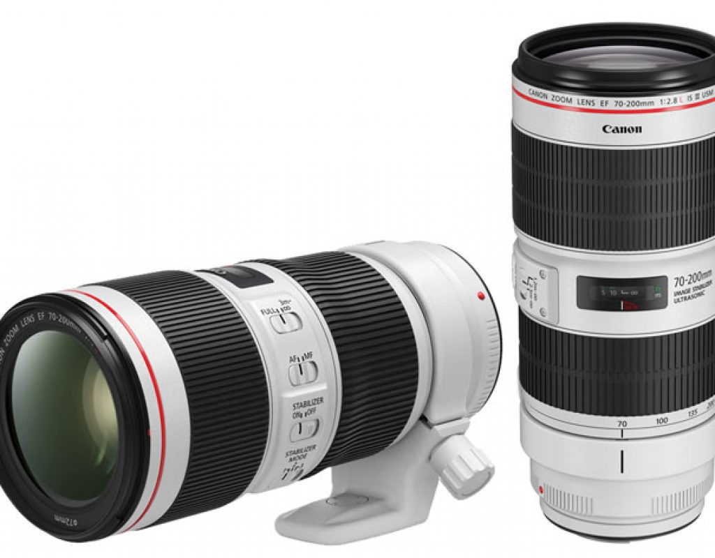 Canon renews its L-series 70-200mm lenses and plays with IS stops