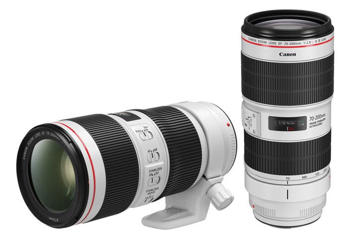 Canon renews its L-series 70-200mm lenses