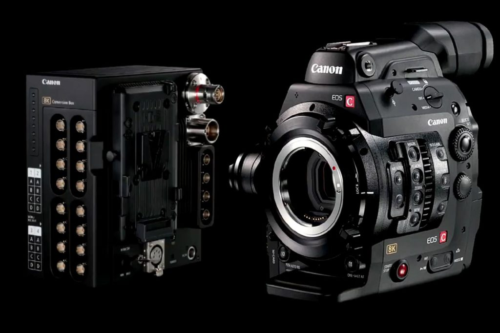 The World Heritage tests new Canon Cinema EOS 8K video camera