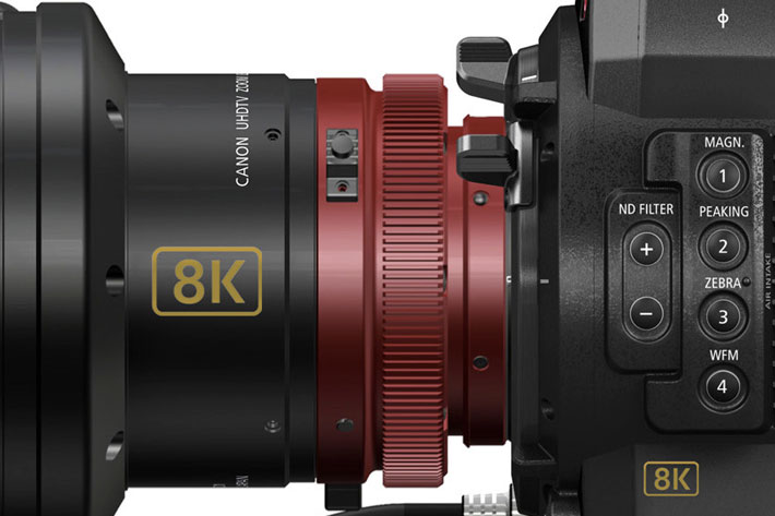 Canon 8K at NAB 2016