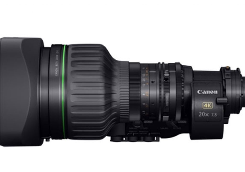 "Canon unveils a 2/3"" portable zoom lens for 4K broadcast cameras 6"