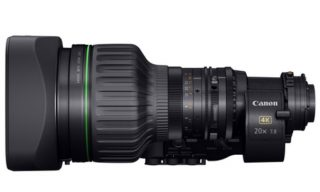 """Canon unveils a 2/3"""" portable zoom lens for 4K broadcast cameras"""