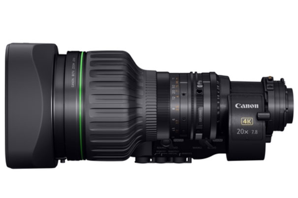 """Canon unveils a 2/3"""" portable zoom lens for 4K broadcast cameras 6"""