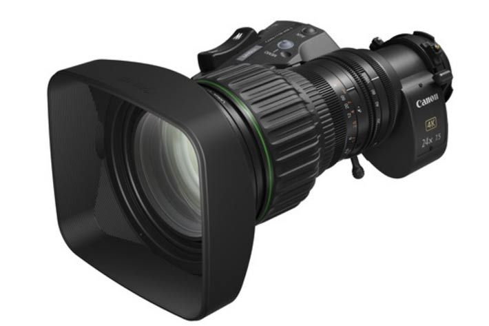 Canon shows new UHDgc series of portable zooms for broadcast 1