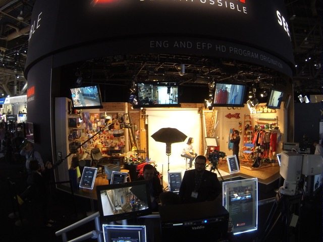 canon booth nab 11