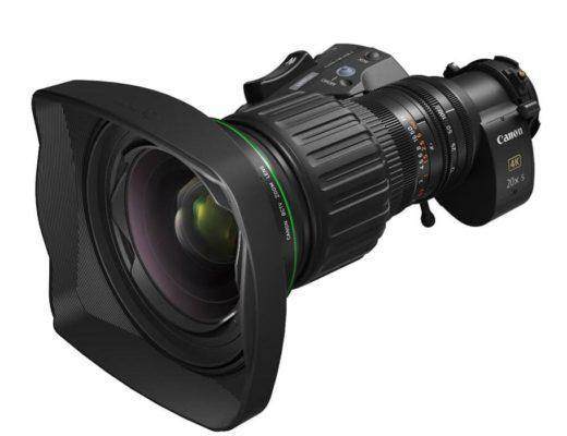 Canon CJ20ex5B: a flexible hybrid concept BCTV zoom lens