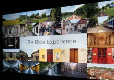 Canon at CES 2016: the 8K Ride Experience