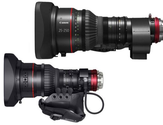 Two Canon CINE-SERVO lenses get full-manual operation