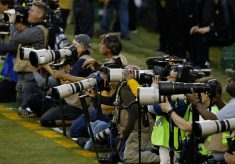 Canon lenses dominate Big Game