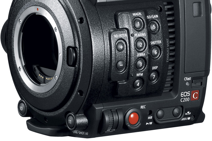 Canon: a new RAW for the EOS C200