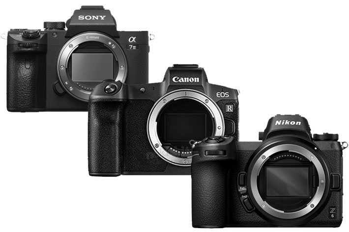 The great mirrorless war: Canon EOS R joins Nikon Z and Sony