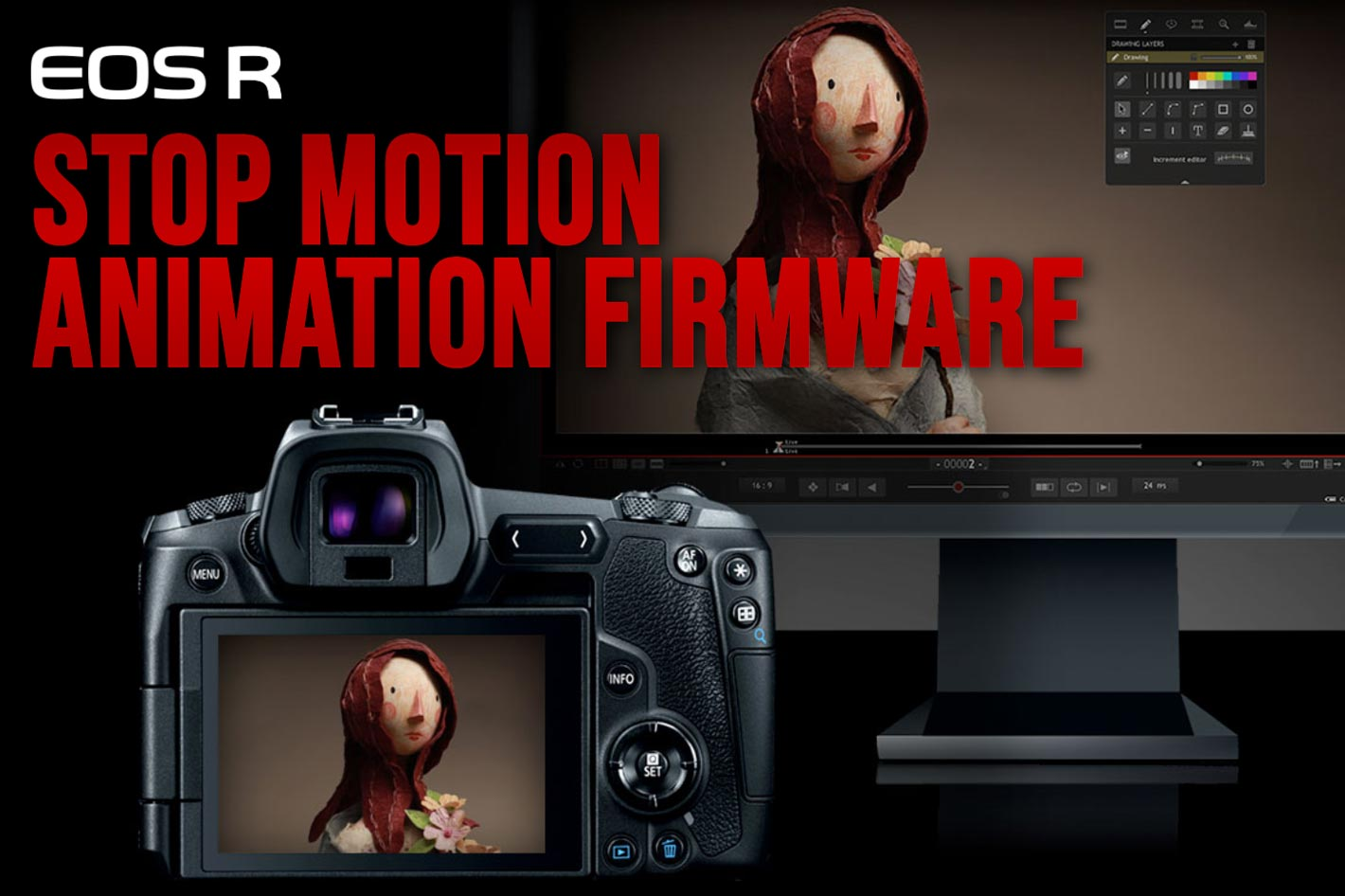EOS R cameras get Stop Motion Animation upgrade