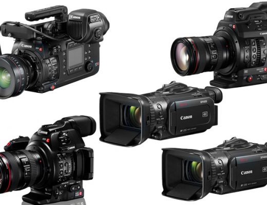 Canon upgrades six professional video cameras